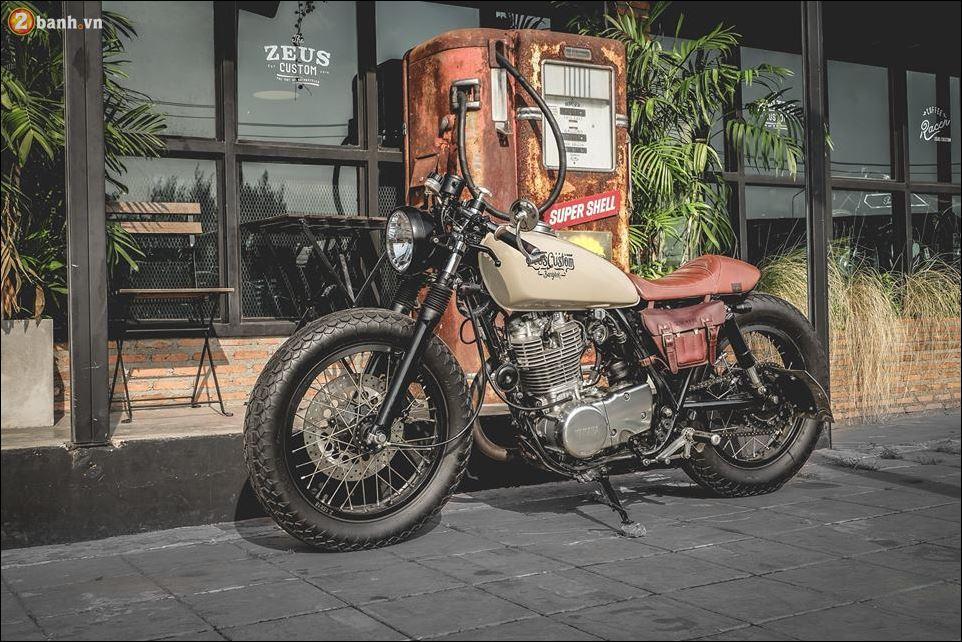 Yamaha SR400 ban do ngat ngay den tu Zeus Custom