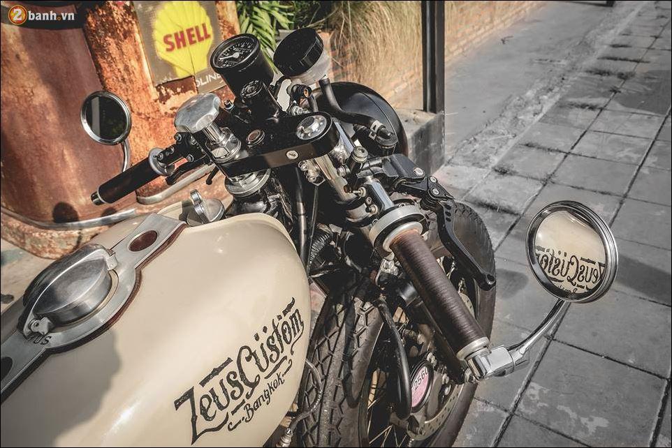 Yamaha SR400 ban do ngat ngay den tu Zeus Custom - 6