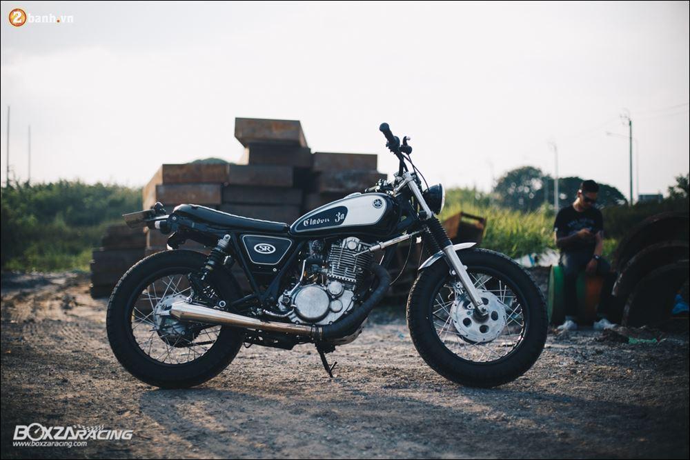 Yamaha SR400 phong tran lich lam qua Version Dirt Style Classic - 3