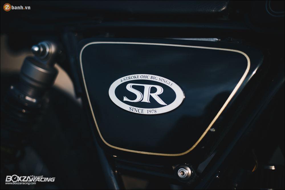 Yamaha SR400 phong tran lich lam qua Version Dirt Style Classic - 13