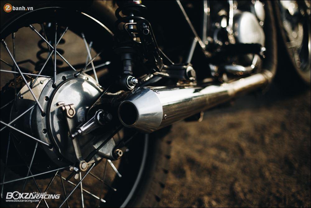Yamaha SR400 phong tran lich lam qua Version Dirt Style Classic - 15
