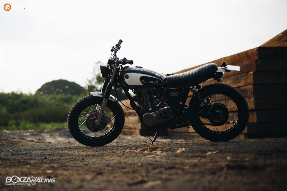 Yamaha SR400 phong tran lich lam qua Version Dirt Style Classic - 22