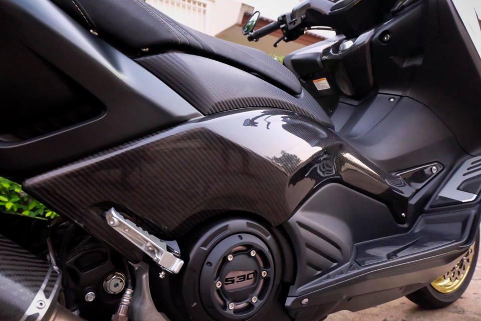 Yamaha TMax ban do nhuc nhoi tu trang bi khung - 12