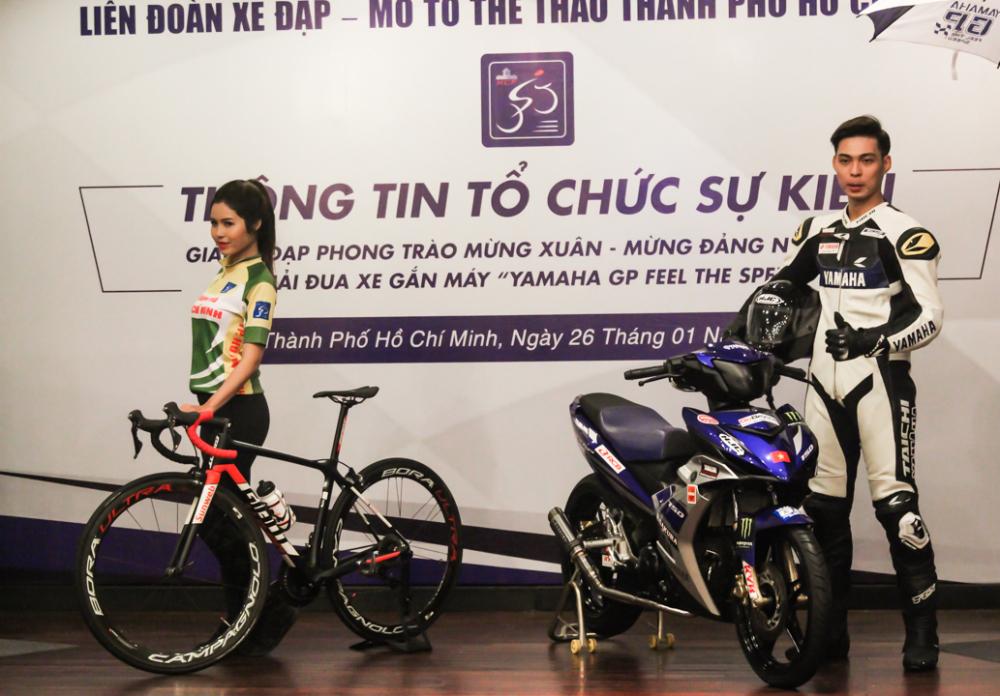 Yamaha Viet Nam phoi hop to chuc giai dua xe Yamaha GP 2018 tai TpHCM