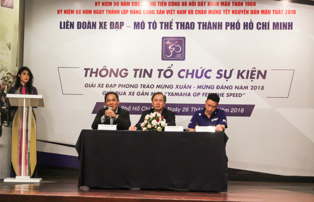 Yamaha Viet Nam phoi hop to chuc giai dua xe Yamaha GP 2018 tai TpHCM - 2