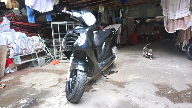 Ban Honda PS 150i mau den doi 2009 gia 365tr
