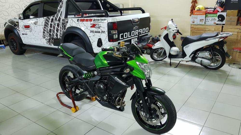 Ban Kawasaki ER6N 62015 HQCN Full thang ABS bien Saigon cap tien dep - 9