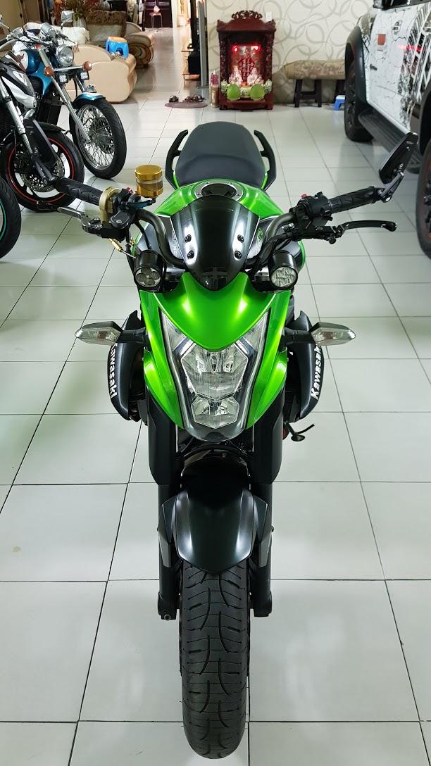 Ban Kawasaki ER6N 62015 HQCN Full thang ABS bien Saigon cap tien dep - 7