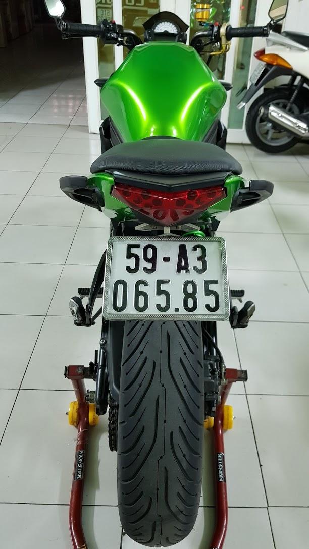 Ban Kawasaki ER6N 62015 HQCN Full thang ABS bien Saigon cap tien dep - 13