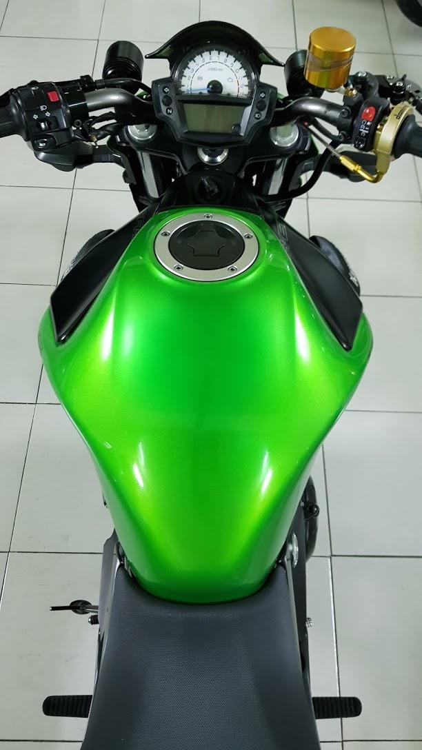 Ban Kawasaki ER6N 62015 HQCN Full thang ABS bien Saigon cap tien dep - 23