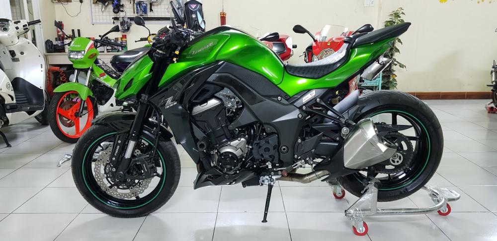 Ban Kawasaki Z1000ABSHQCN102015HISSChau AuSaigon so dep - 3