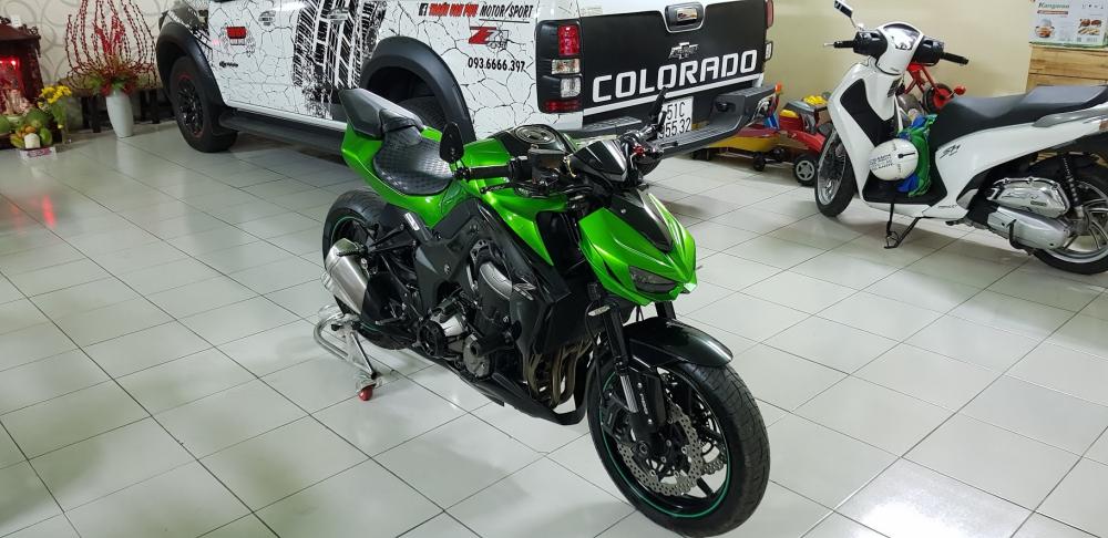 Ban Kawasaki Z1000ABSHQCN102015HISSChau AuSaigon so dep - 8