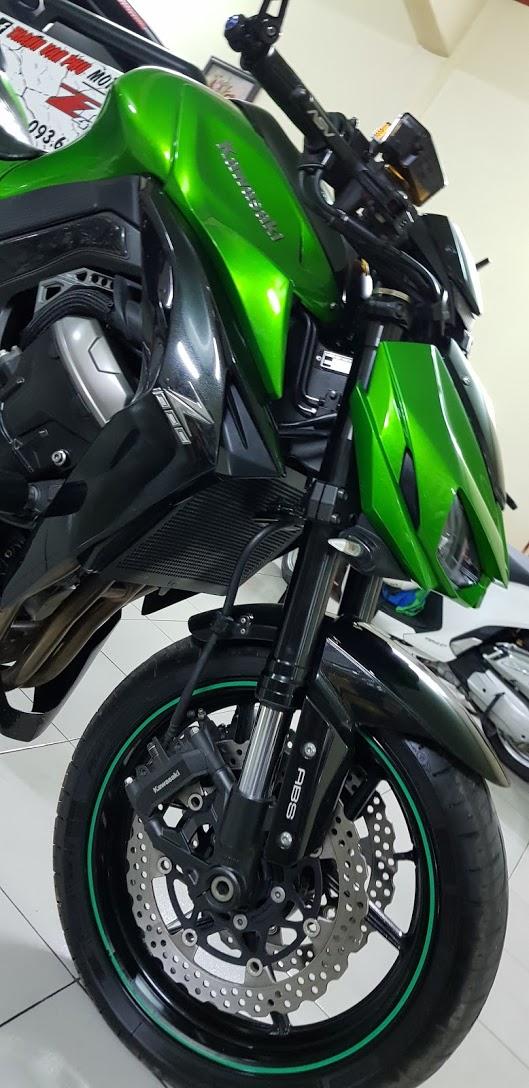Ban Kawasaki Z1000ABSHQCN102015HISSChau AuSaigon so dep - 9