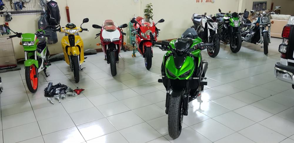 Ban Kawasaki Z1000ABSHQCN102015HISSChau AuSaigon so dep - 23