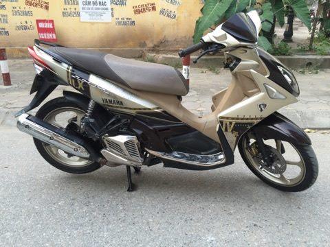 Ban Yamaha Nouvo Lx 135 doi 2012 nau vang bien HN cuc chat 143tr - 2