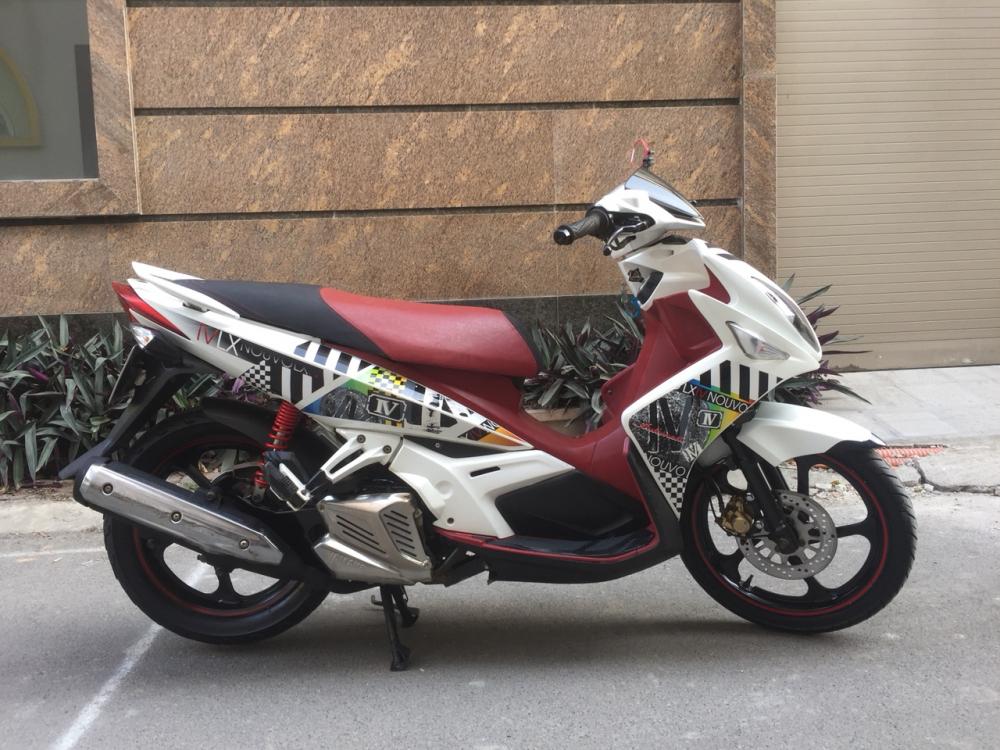 Ban Yamaha Nouvolx IV 2011 Do Trang doi cuoi chinh chu bien HN 5 so cuc moi chat 14tr500 - 4