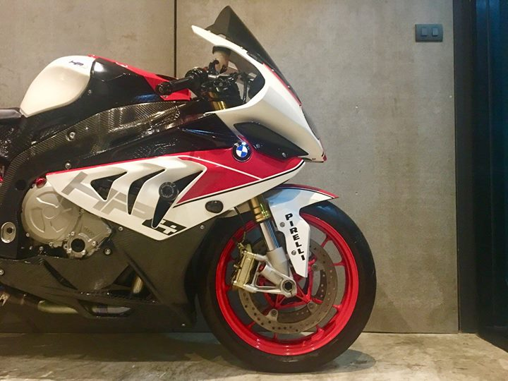 BMW S1000RR dep rang ngoi cung style HP4 Red - 6