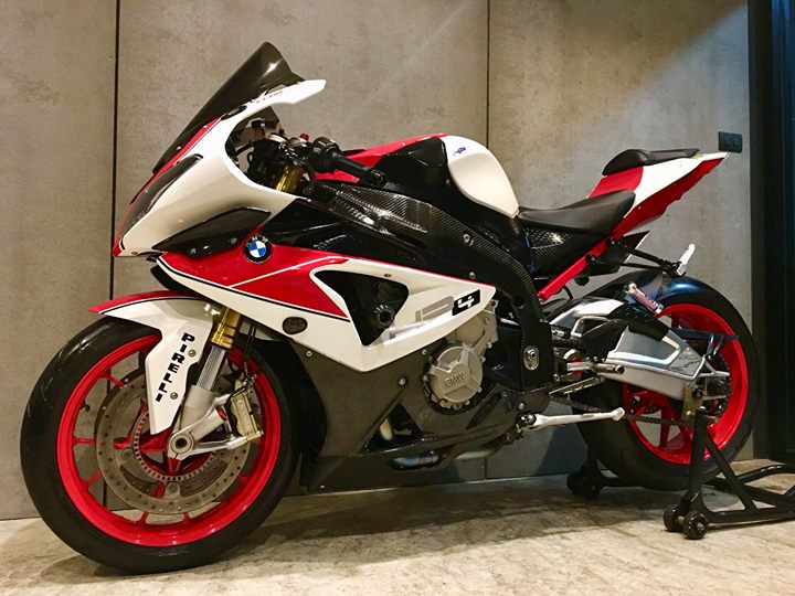 BMW S1000RR dep rang ngoi cung style HP4 Red - 12