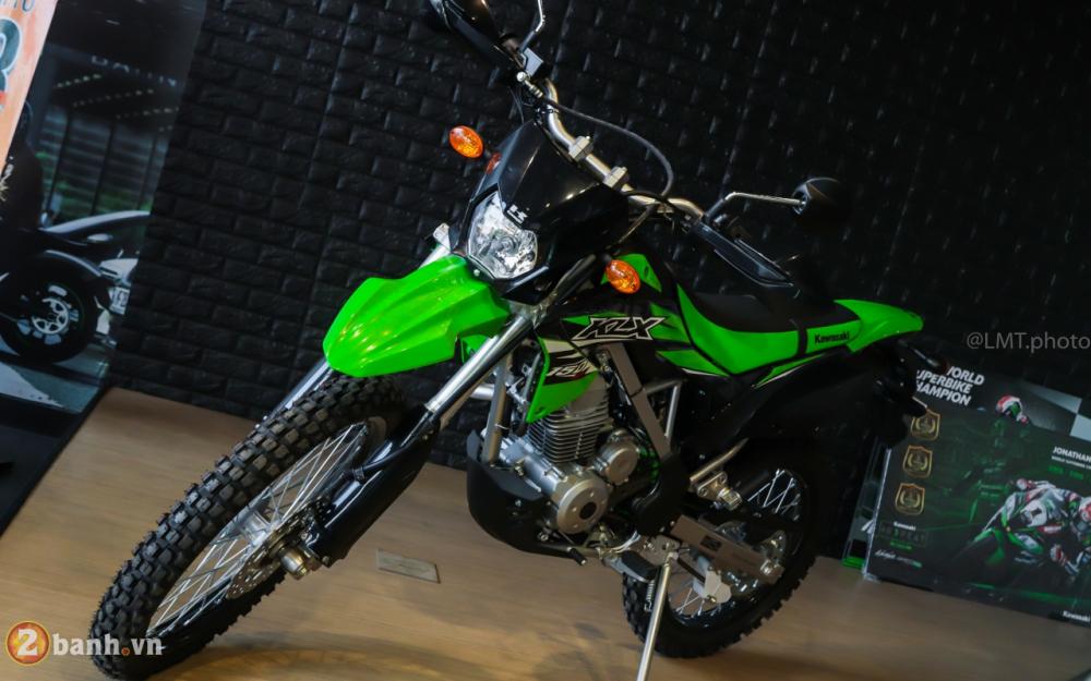 Can canh chi tiet Kawasaki KLX 150 gia tu 79 trieu dong