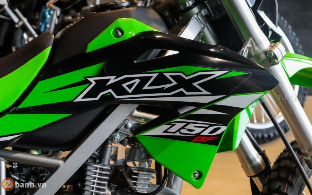 Can canh chi tiet Kawasaki KLX 150 gia tu 79 trieu dong - 10