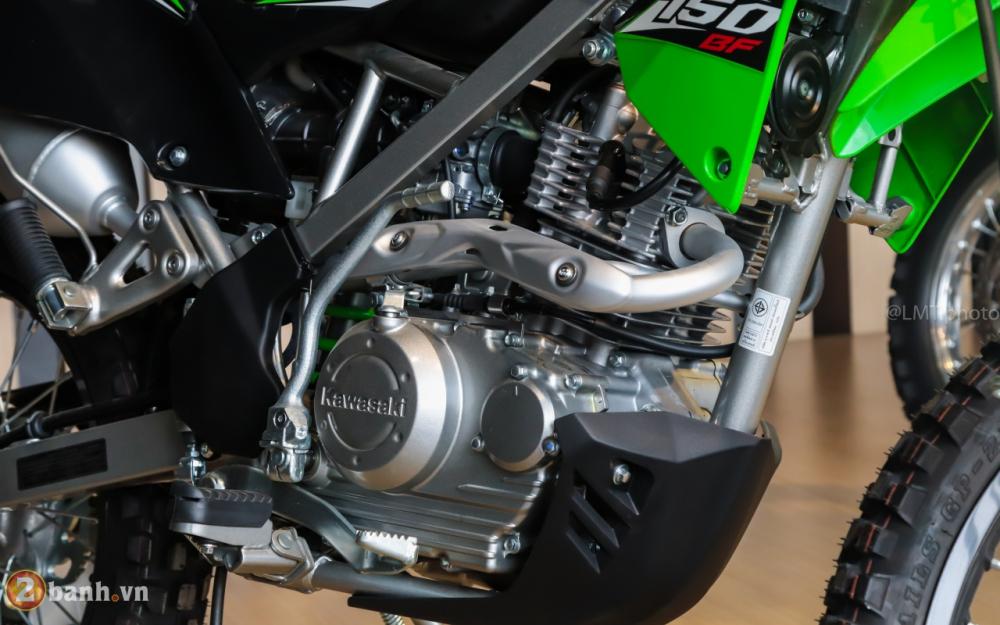 Can canh chi tiet Kawasaki KLX 150 gia tu 79 trieu dong - 14