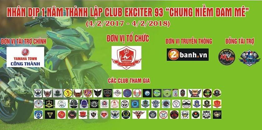 Club Exciter 93 Chung niem dam me nhin lai chan duong I nam da qua