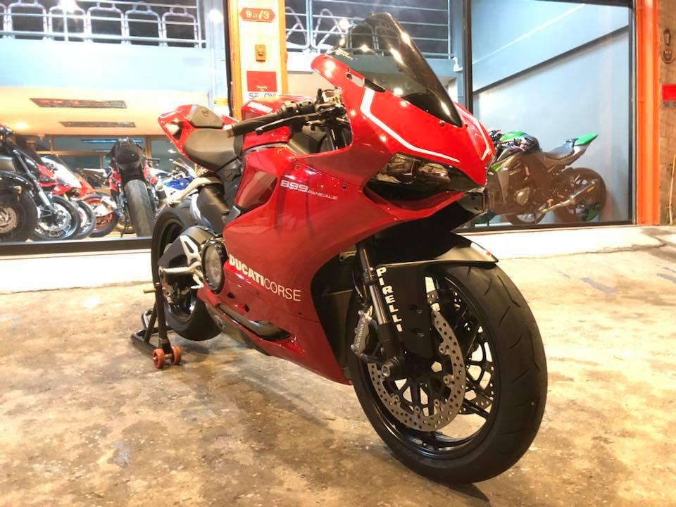 Ducati 899 Panigale ve dep kho cuong tu thiet ke hoan hao