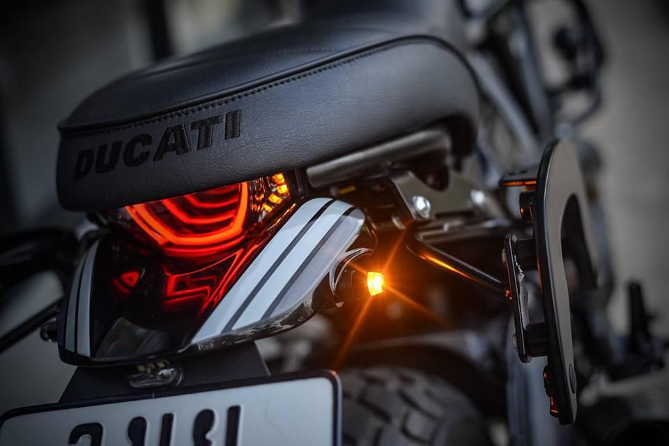 Ducati Scrambler ban do Dark knight cuc chat den tu Mugello - 6