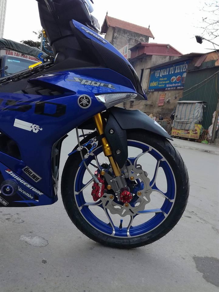 Exciter 150 do ham ho voi loat option do choi kieng cua biker Ha Noi - 6