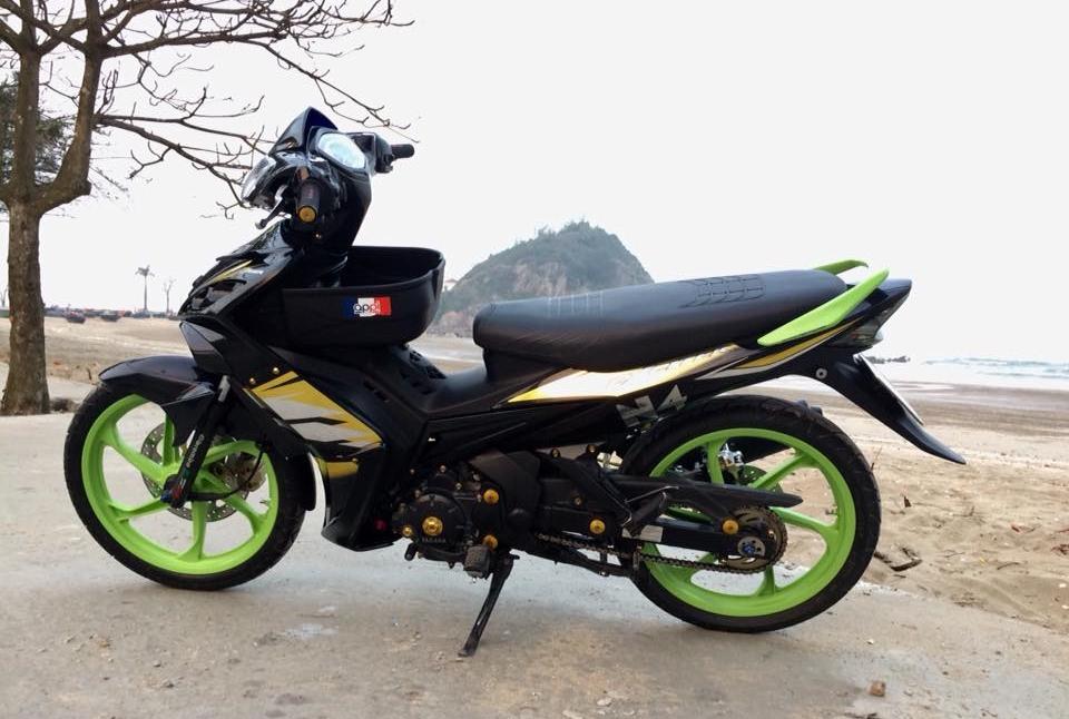 Exciter 2010 do don gian mang sac thai cuc ngau cua biker Nghe An - 6