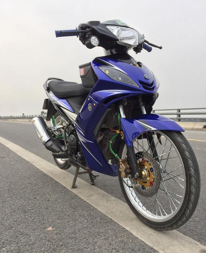 Exciter 2010 do khoe dang tren con duong cao toc cua biker Hai Phong - 4