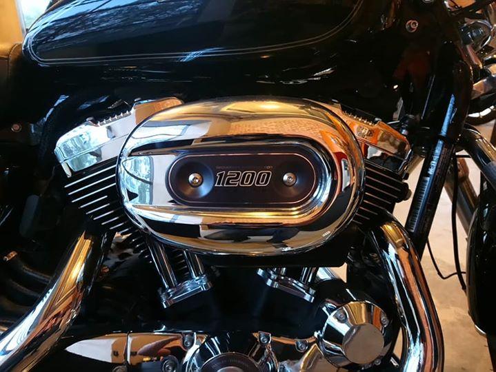 HarleyDavidson Sporter 1200 Custom gia danh cho mua Tet - 15