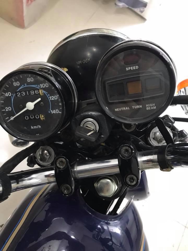 Honda CD250U hang hiem moi ve gia soc ngay tet - 2