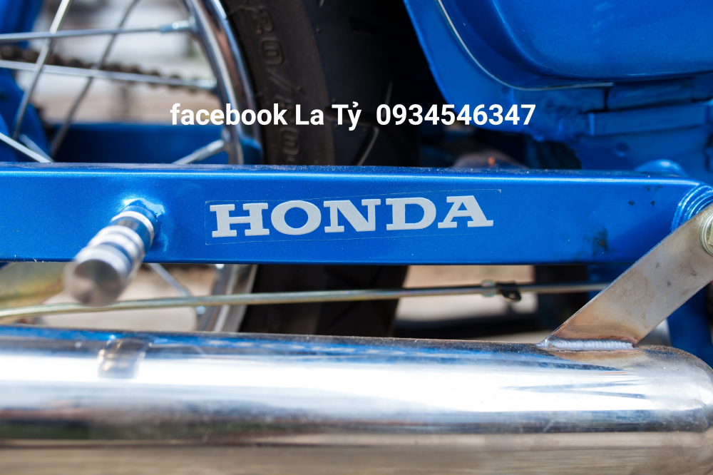 Honda Cub Do Tai Tphcm - 3