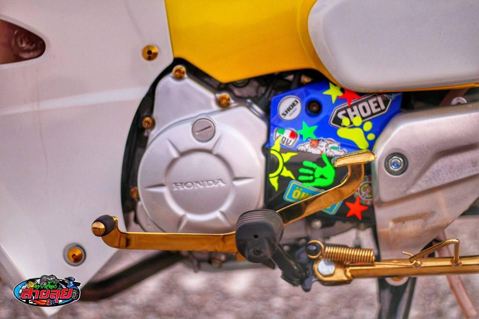 Honda Cub do voi option do choi kieng gia tri cua biker Thailand - 7