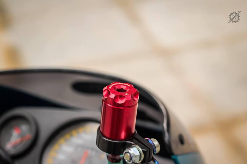Honda Nova Dash Dua con cua gio cung loat do choi khung tu Biker mien tay - 6