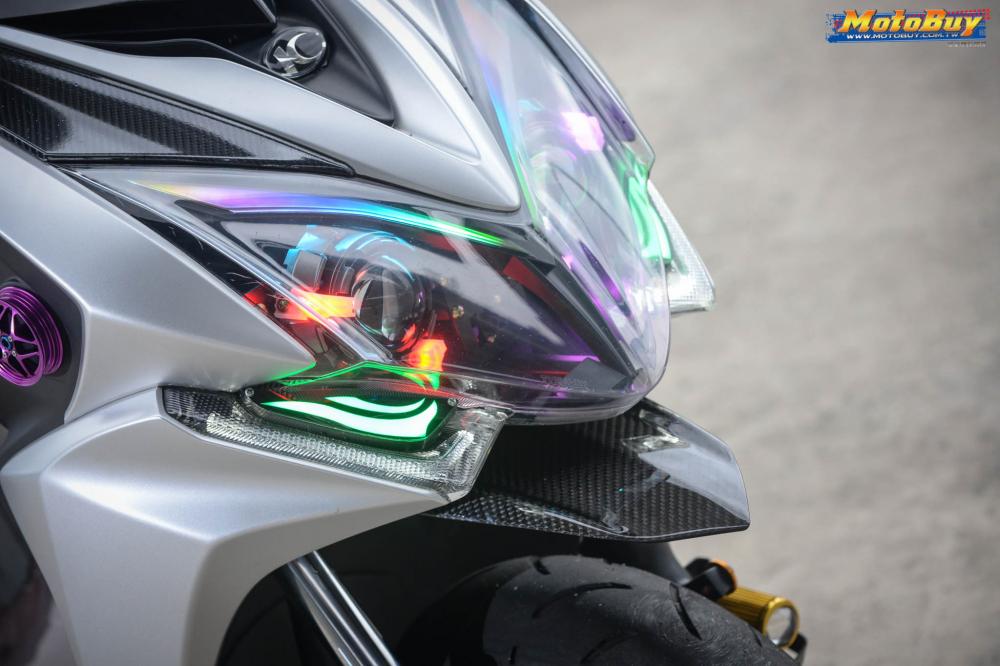 KYMCO RacingS 150 do dang cap voi khoi do choi hieu cua biker xu Dai - 5
