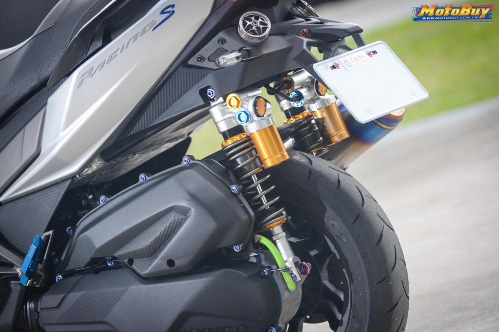 KYMCO RacingS 150 do dang cap voi khoi do choi hieu cua biker xu Dai - 8