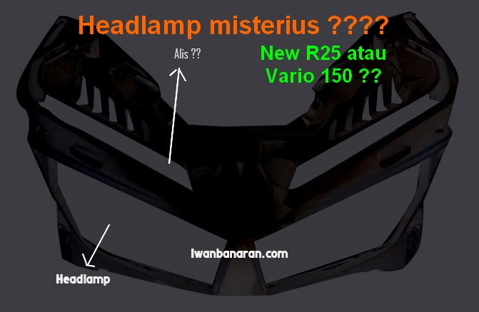 Lo anh den pha LED nghi ngo cua Yamaha R25 moi Vario 150 moi - 3