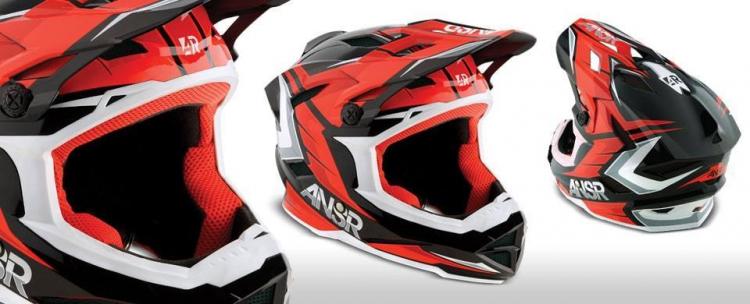 Motobox299 ANSR Faze Red dang cap danh cho biker