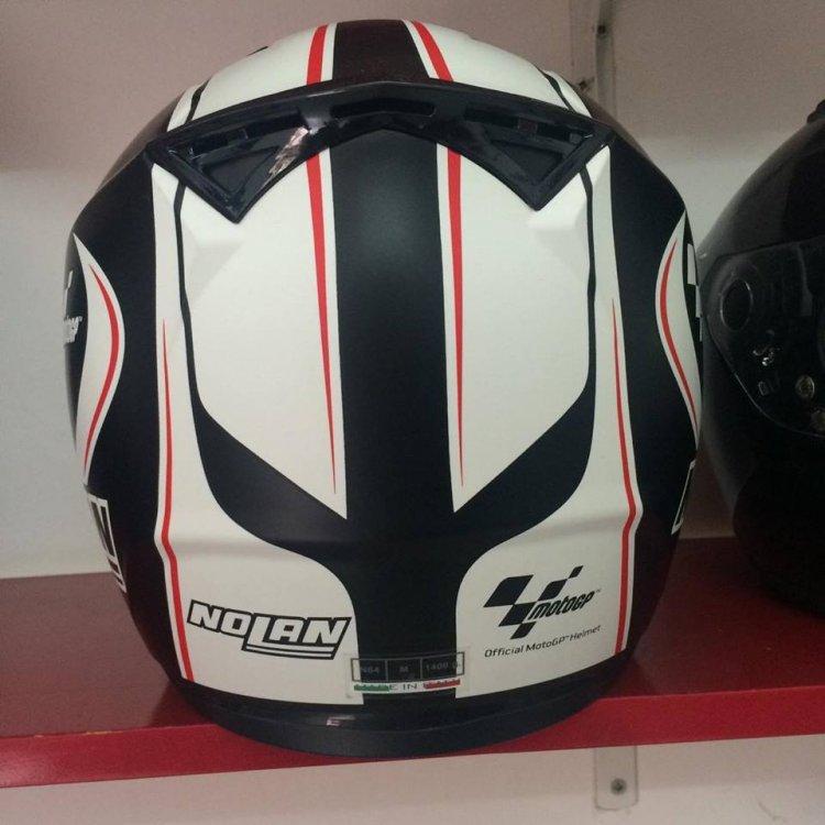 Motobox299 Nolan N64 MotoGP Flat Black su quan hut cua toc do - 3