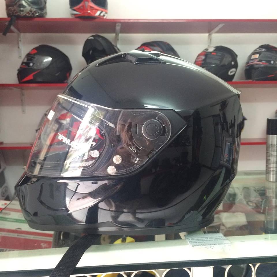 Moto299 Mu bao hiem nho nhe Nolan N64 den bong - 3
