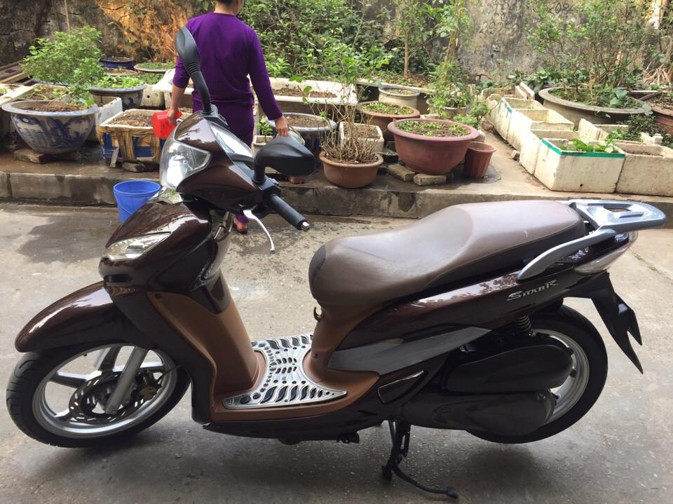 Rao ban Shark 125 kieu dang Sh Nau cafe con rat moi chinh chu su dung nguyen ban - 5