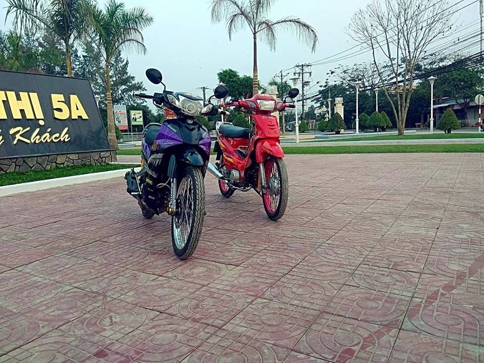Sirius ca map duong pho den tu Soc Trang