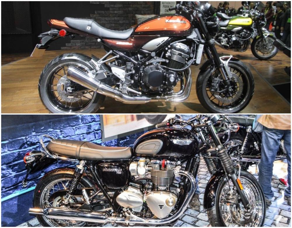 So sanh Kawasaki Z900RS vs Triumph Bonneville T120