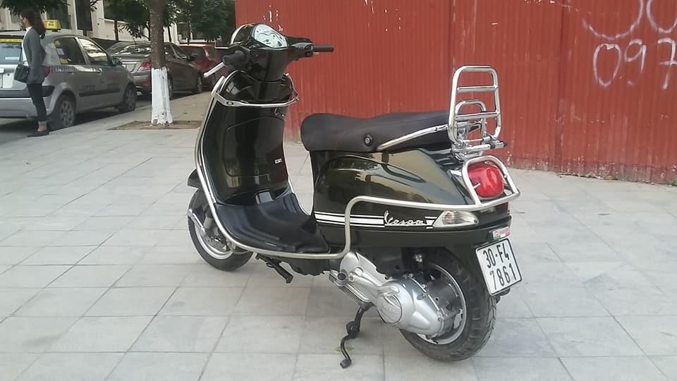 Vespa Lx 150 nhap italia mau xanh reu bien HN - 3