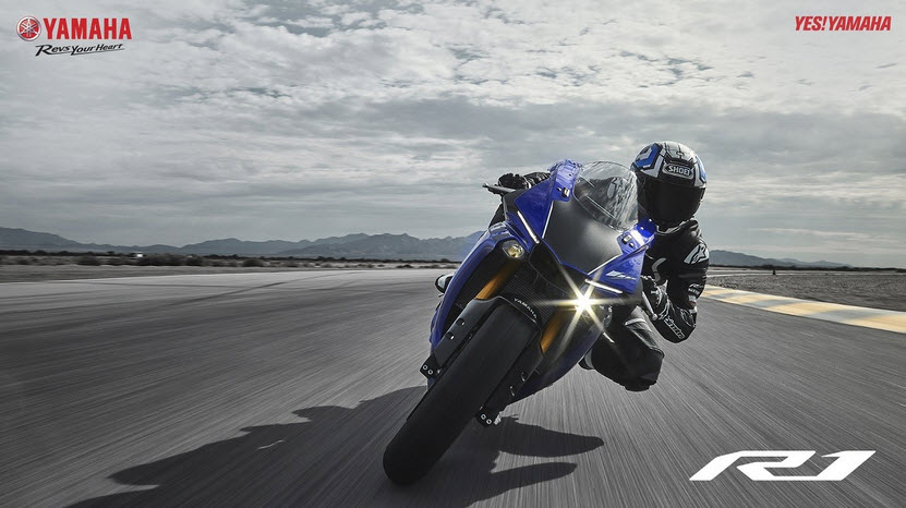 Yamaha R1 2018 moi phai chang se thay doi cuoc choi toc do
