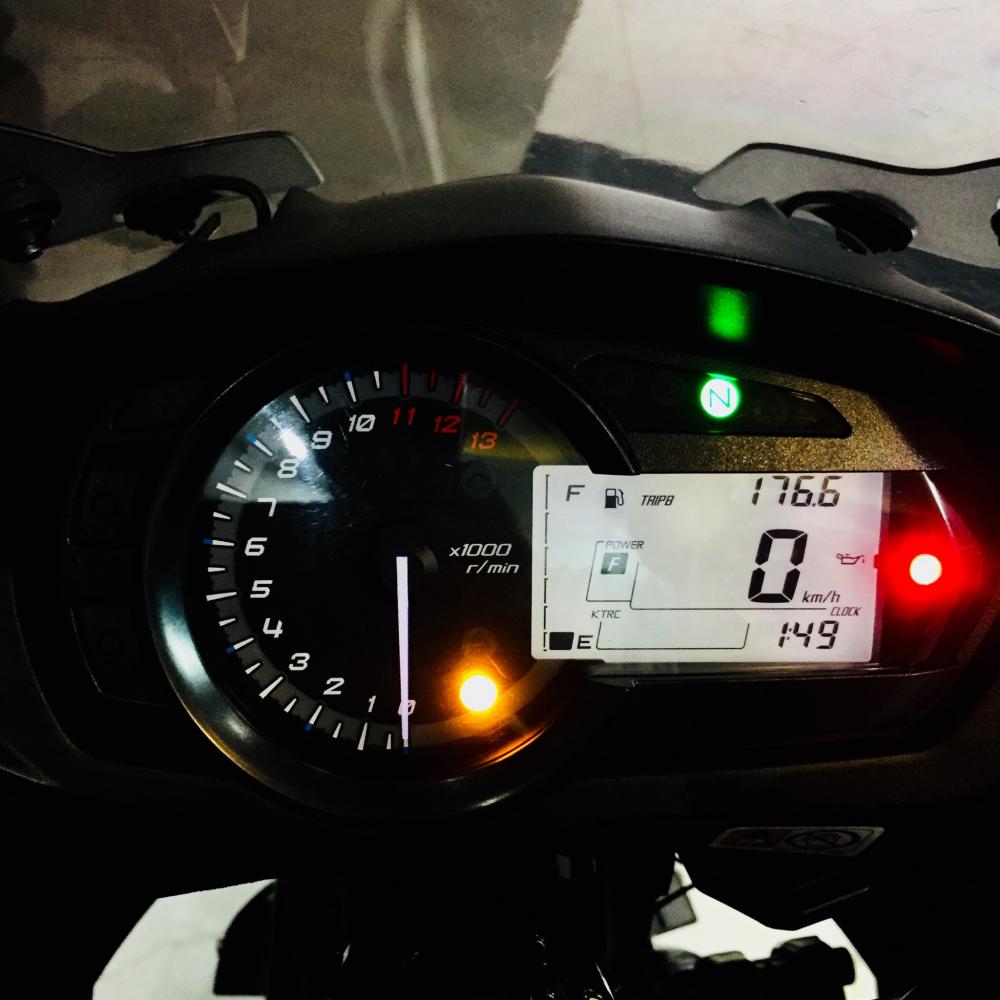 Z1000sx ABS 2015 Chau Au sport touring Full power KTRC 3mode BSTP zin keng vua lot keo trong - 5