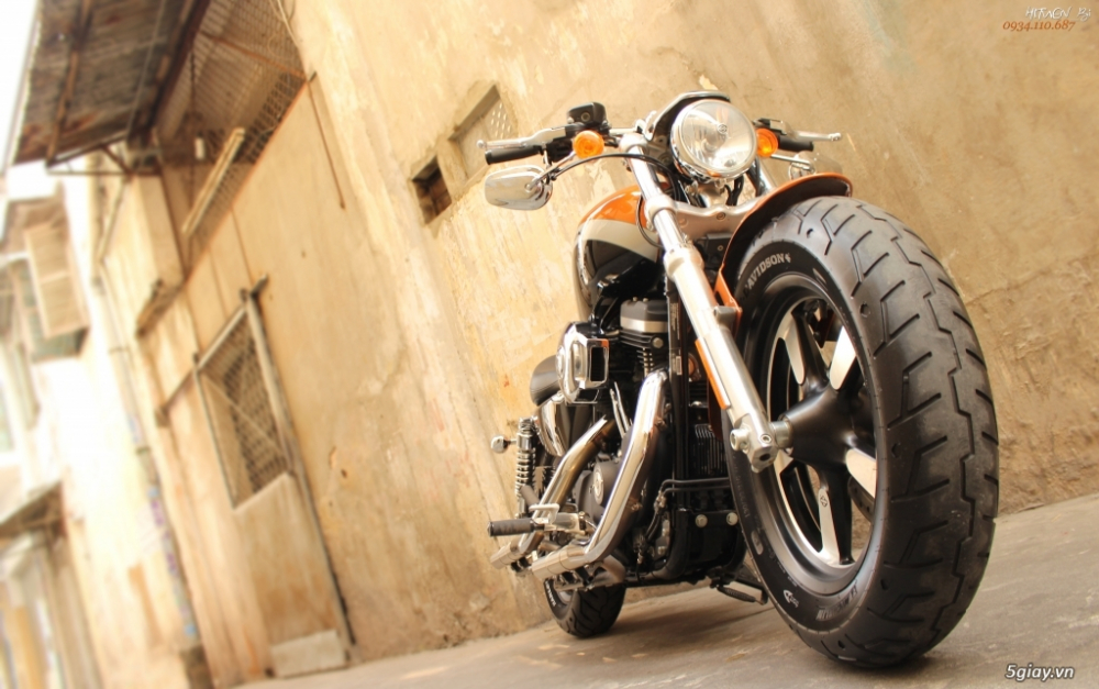 ___ Can Ban ___HARLEY DAVIDSON 1200 Custom CA ABS 2014 Limited___ - 5