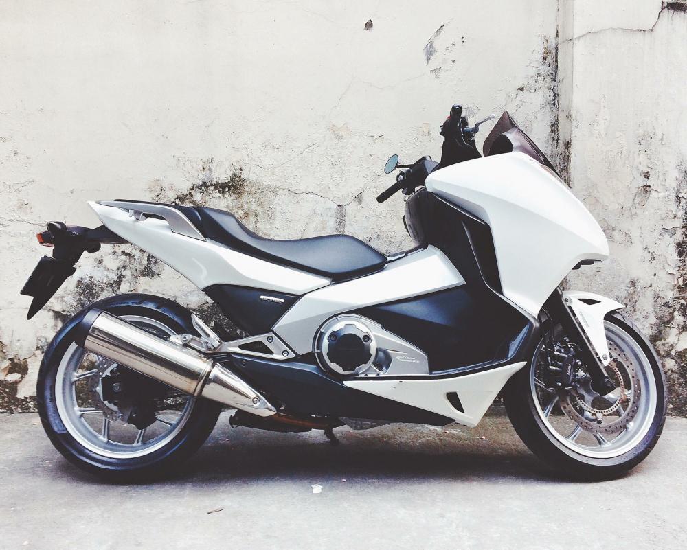 Ban sieu tay ga HONDA Intergra 750cc 20132014 chay 3000km - 3